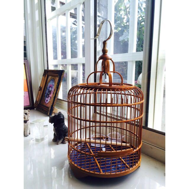 復古萌鳥籠 適用於小鳥用