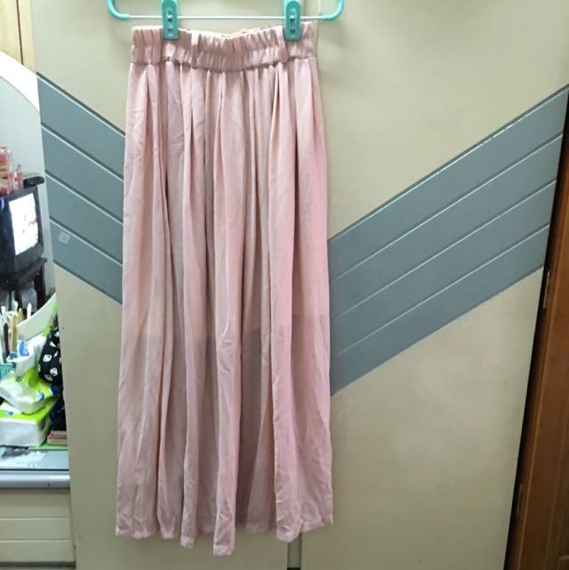 長裙。 日系風。 購自Queen Shop。