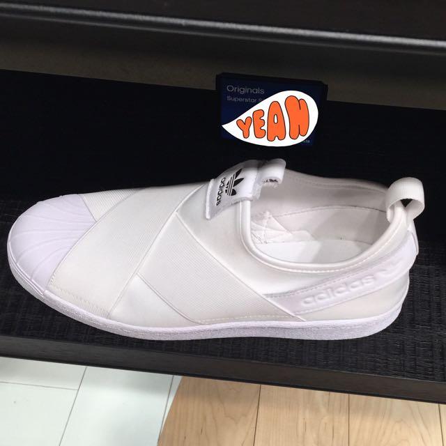 大阪連線 Superstar Slip On 白色 繃帶鞋 現貨