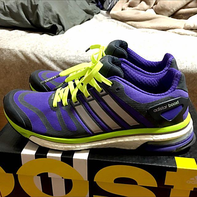 adidas_ adistar Boost 頂級慢跑鞋 UK6