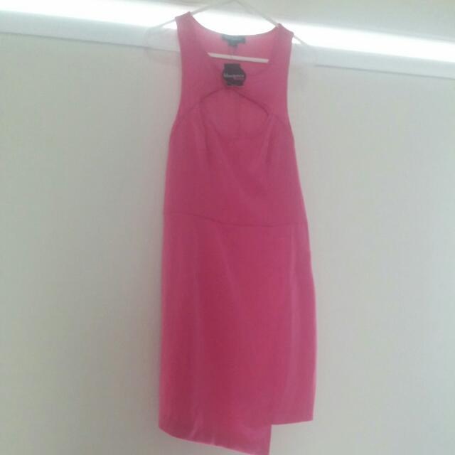 Brand New Bluejuice Hot Pink Dress BNWT
