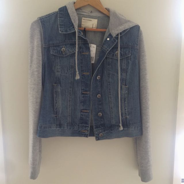 Denim/grey Jacket