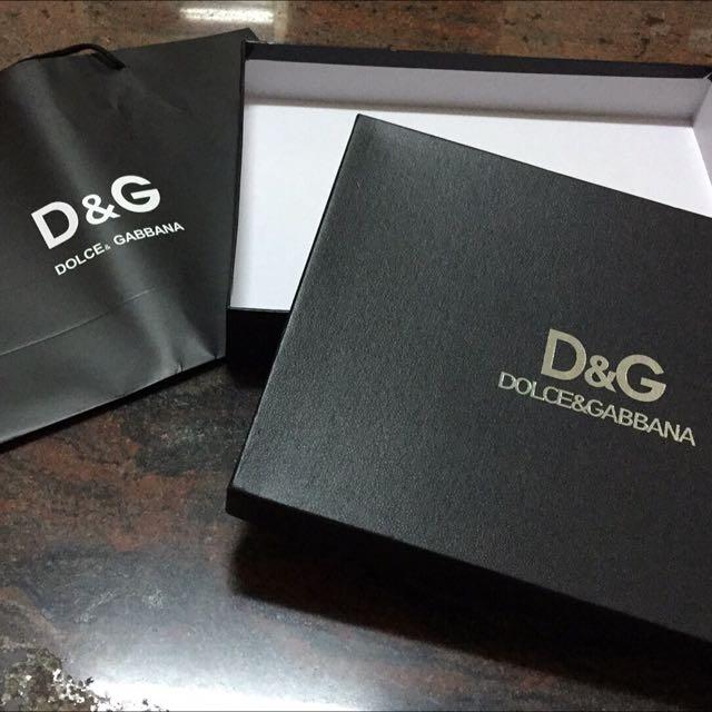 D&G紙盒+紙袋