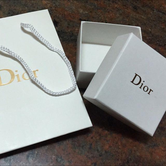 Dior紙盒+紙袋