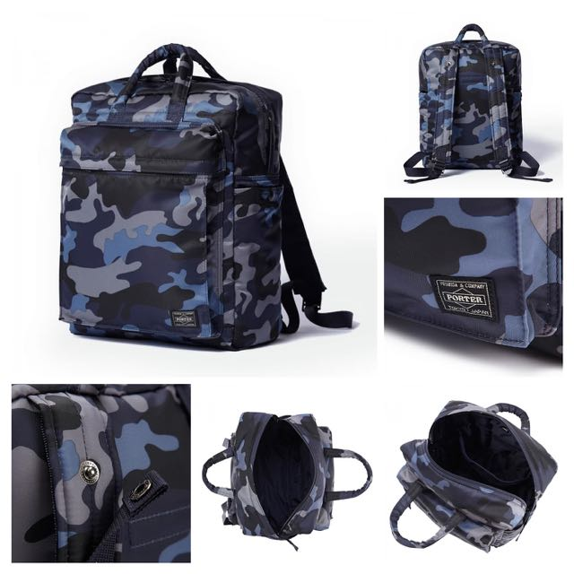 f8cd31c4ac9f Head Porter 2way Bag - Jungle Navy Camo