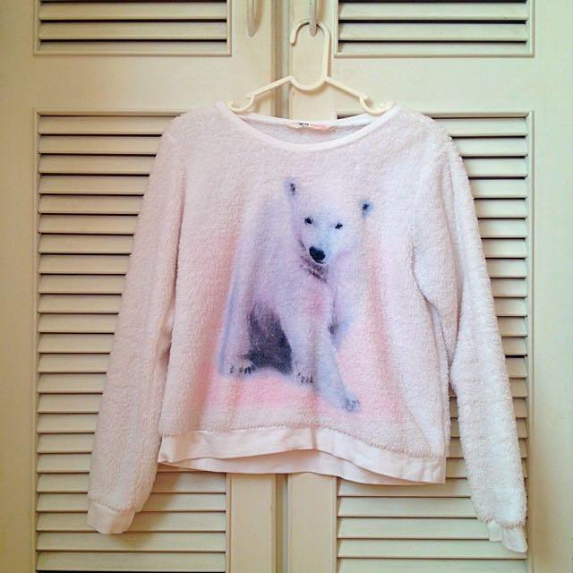 H&M 北極熊上衣