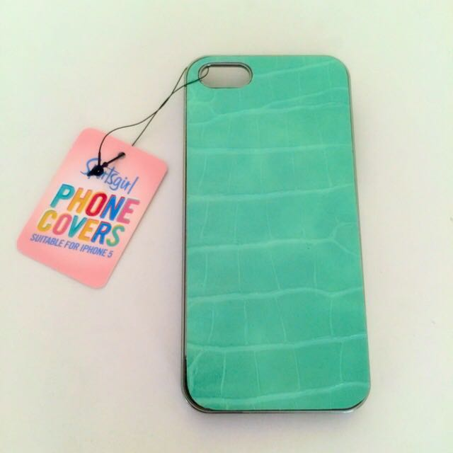iPhone 5 Aqua Phone Case