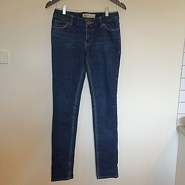 Just Jeans Size 9 Indigo Low Rise Supa Skinny