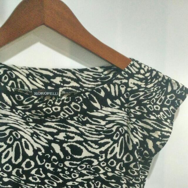 Kokopeli - Abstrak Tulip Dress