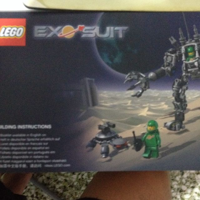 Lego 21109 Exo Suit Instruction Manual Toys Games On Carousell