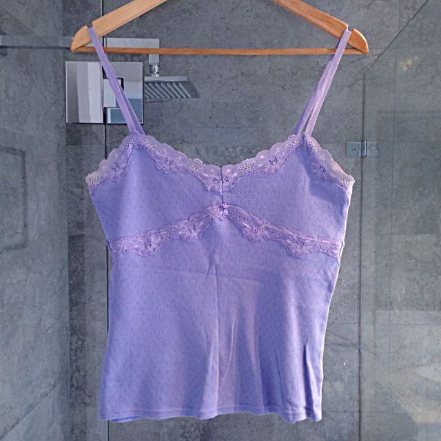 Lillac Top - Purple, Size 12