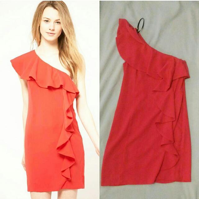 Preloved Spotlight Warehouse One Shoulder Dress