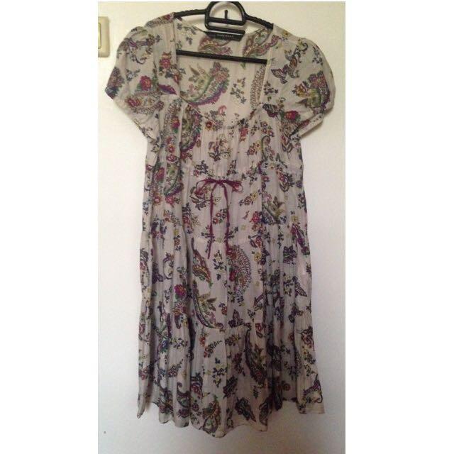 Preloved Zara Boho Dress