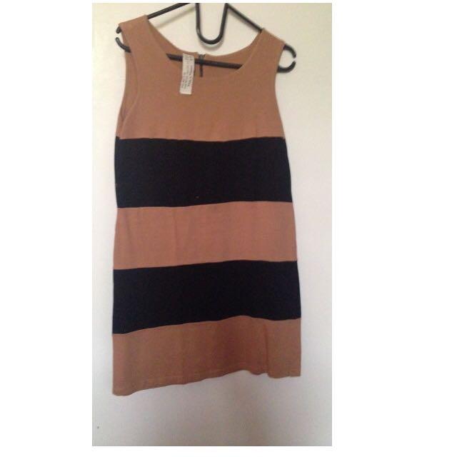 Preloved Zara Striped Dress