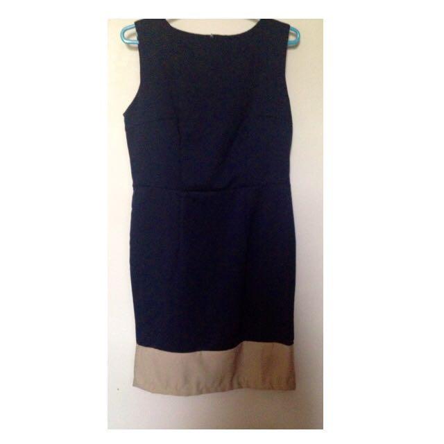 Shopatvelvet Two Tone Dress