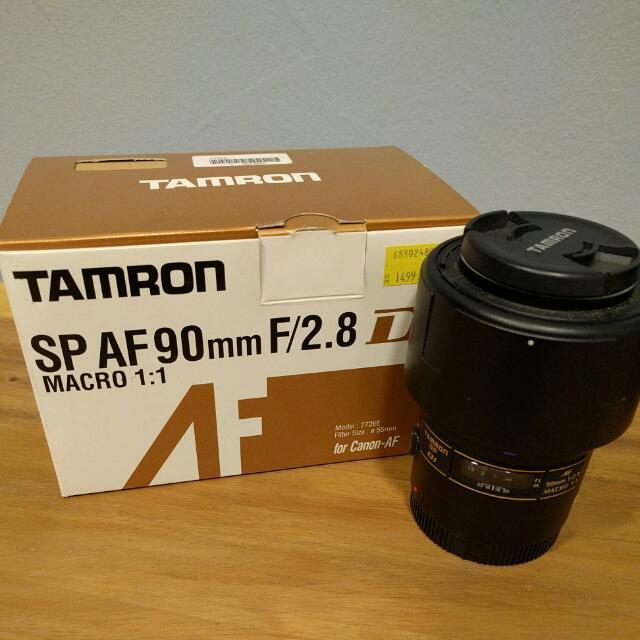 Tamron SP90 Macro (Canon)