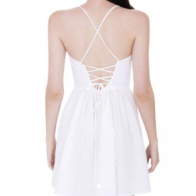 Tie back dress (criss cross)
