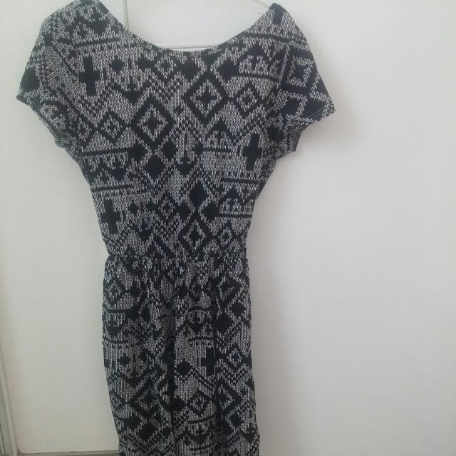 Topshop Geometric Dress