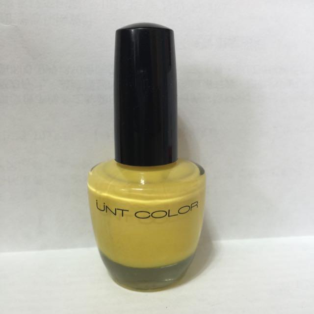 UNT指甲油 MQ065 鮮豔黃