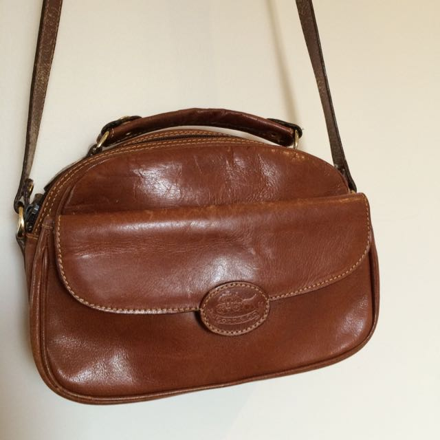Vintage Leather Cobb & Co Handbag Brown