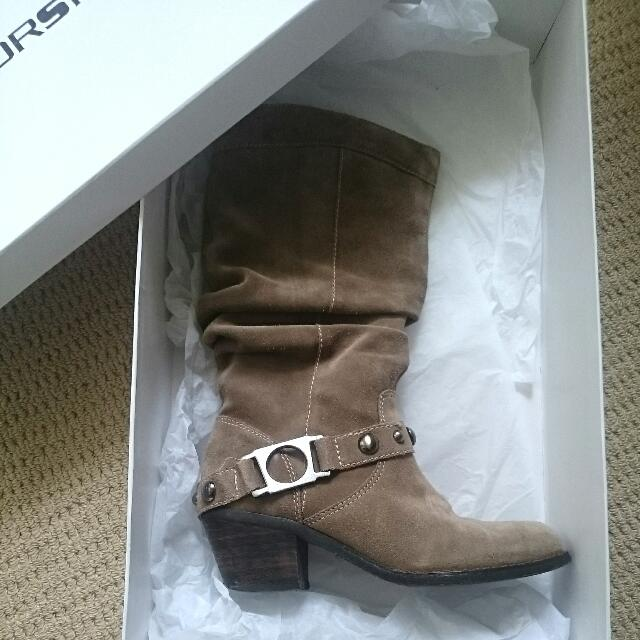 Windsor Smith Taupe Boots