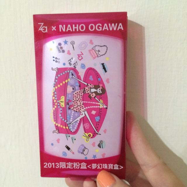 Za x NAHO OGAWA粉餅盒