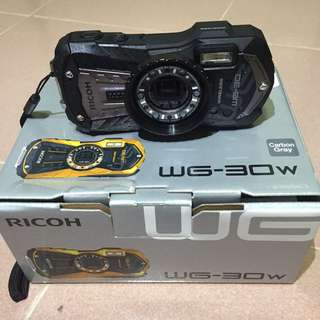 RICOH WG-30W Underwater Sports Camera