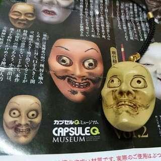 🚚 日本 臉譜 面具 吊飾 扭蛋