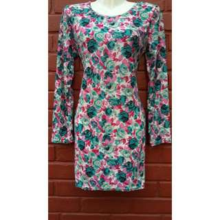 Reserved - (BNWT) Floral Bodycon/Dress
