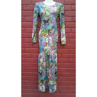 (NEW) Paisley Long Dress/Bodycon