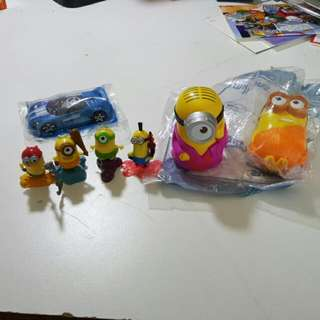 Minions And Hot Wheels Set