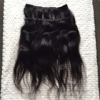 100% Remy Human Hair Extensions - Clip In