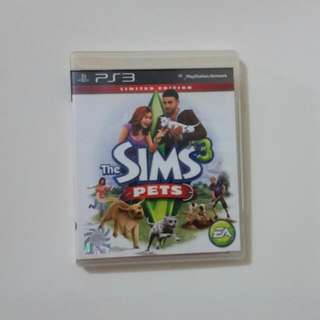 THE SIMS 3 PETS PS3
