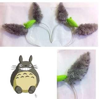 fluffy totoro ear