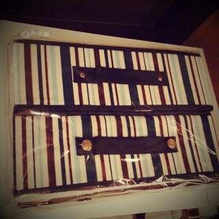 雙層布盒收納櫃 📤 兩層掀蓋式小抽屜
