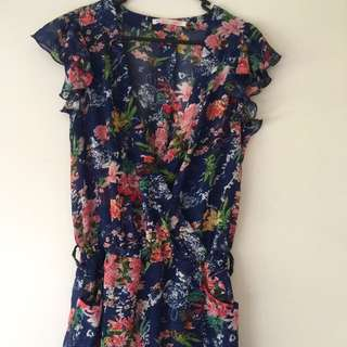 Playsuit Floral