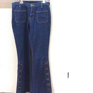Vintage Flare Denim Jeans