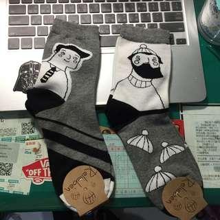 可愛的襪子~