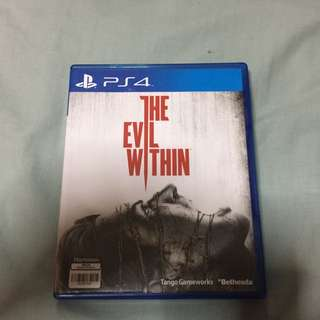 Ps4 Evil Within $30