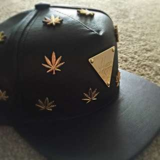 For Him, Limited Edition,Hater SnapBack, Leather And Metal, Brand New,