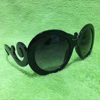 Prada Inspired Black Sunglasses