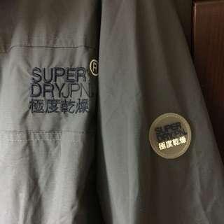 保留中~Superdry 刷毛連帽外套 S號