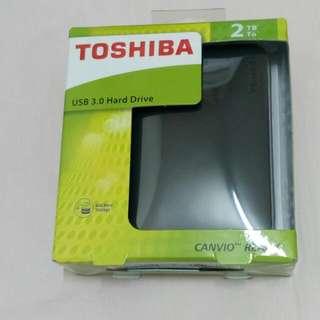 ♥Toshiba Canvio Ready 經典碟二代 2TB 2.5吋 行動硬碟