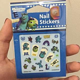 4 Types Disney Nail Stickers