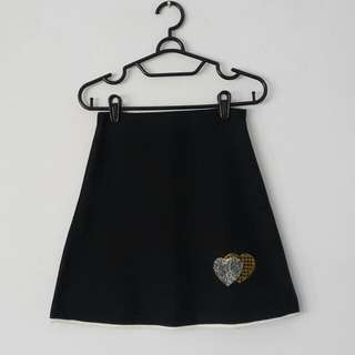 Flare Heart Skirt