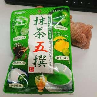 日本進口綜合抹茶糖