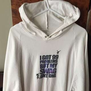 Hoodie 99 Problems But My Swag Ain't One [Size L]