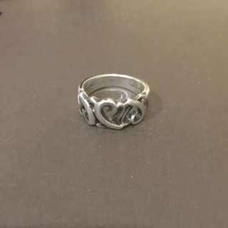 Tiffany 心心相印戒指