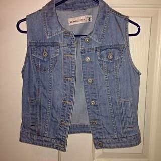 Denim Crop Best - Just Jeans