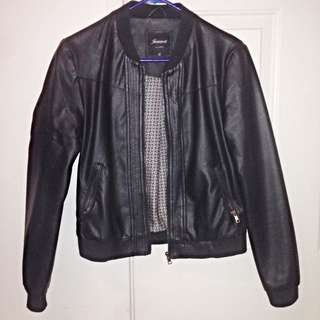 Leather Jacket - Jeans West